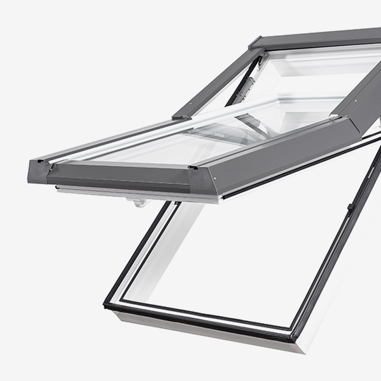 Our new line of Skylight Premium roof windows.